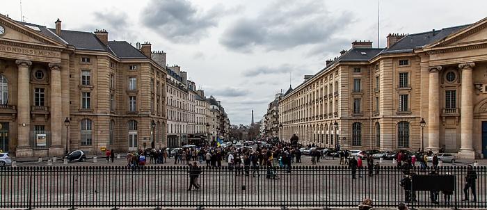 Paris Quartier Latin: Place du Panthéon Eiffelturm Mairie du 5e arrondissement Rue Soufflot Université Panthéon-Assas