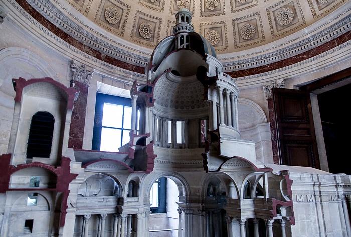 Paris Panthéon: Modell des Panthéon