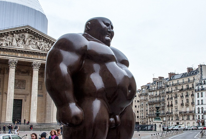 Quartier Latin: Rue Soufflot - Mongolian (standing position) von Hong Bia Shen Paris