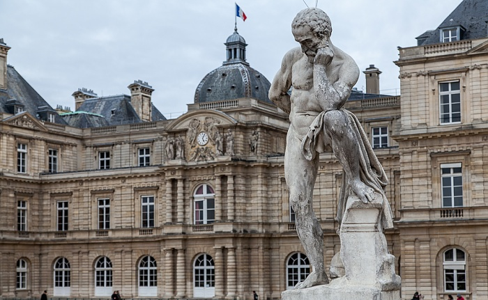 Paris Jardin du Luxembourg und Palais du Luxembourg