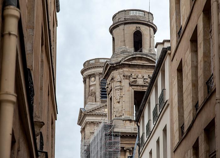 Paris Rue Férou, Église Saint-Sulpice