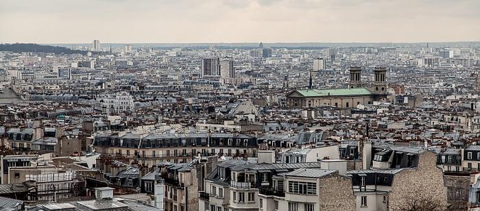Paris Blick von Montmartre