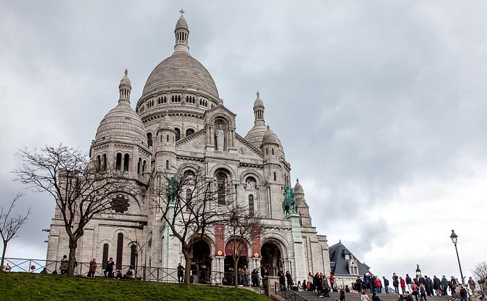 Montmartre: Basilique du Sacré-Coeur Paris 2014