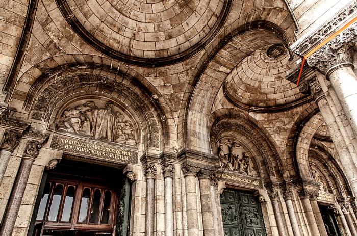Paris Montmartre: Basilique du Sacré-Coeur
