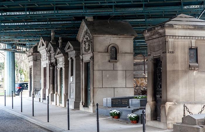 Paris Cimetière de Montmartre Pont Caulaincourt