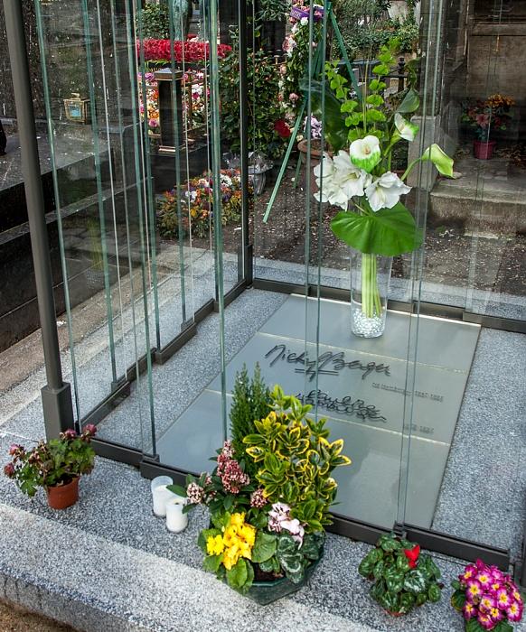 Paris Cimetière de Montmartre: Grab von Michel Berger