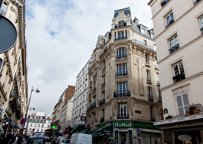Paris Montmartre: Rue Lepic