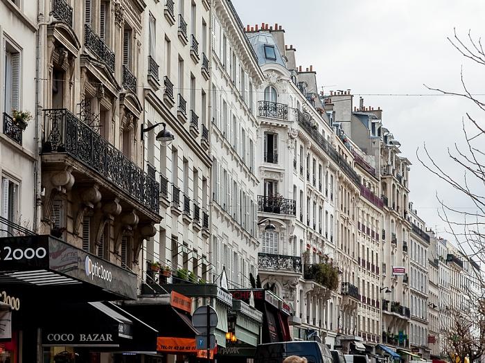 Paris Montmartre: Rue des Abbesses