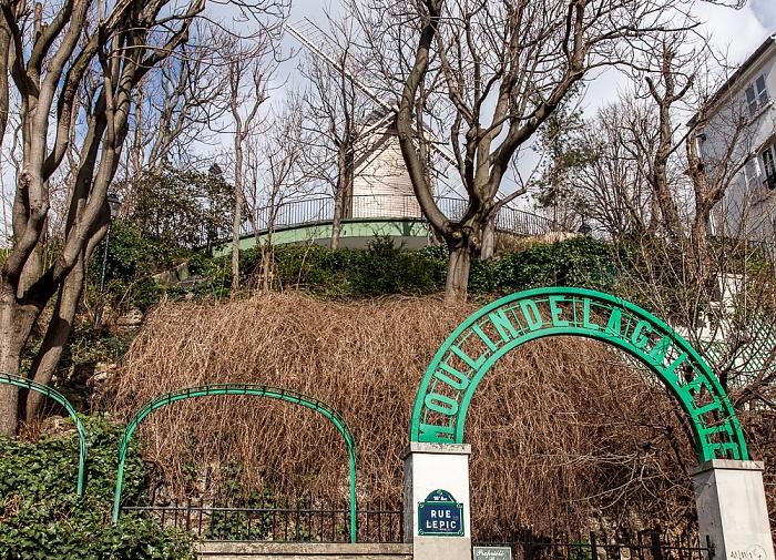 Paris Montmartre: Moulin de la Galette