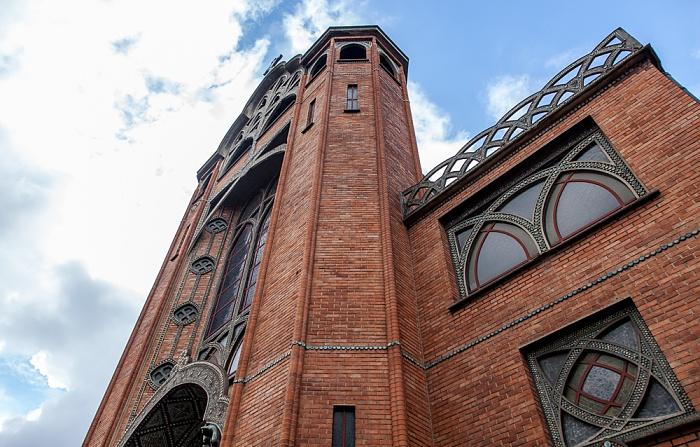 Paris Montmartre: Rue des Abbesses - Église Saint-Jean de Montmartre