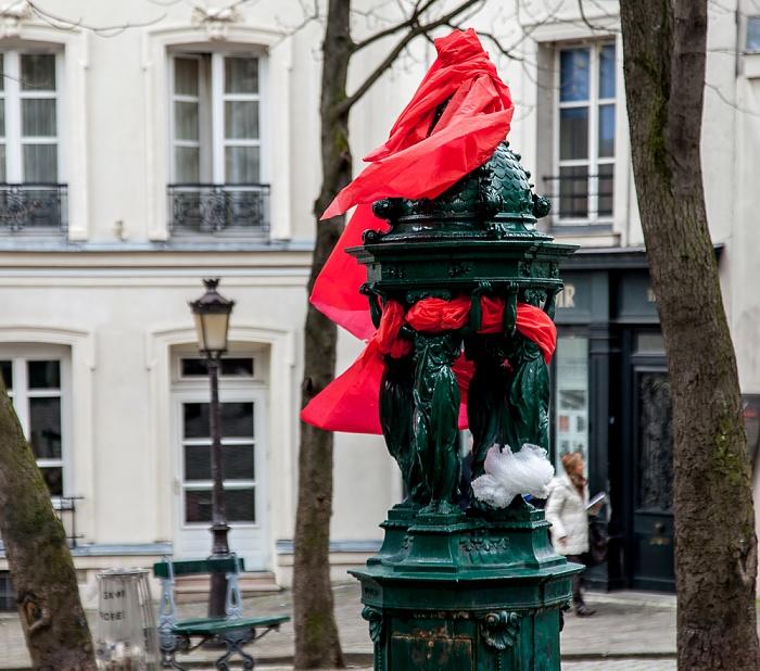 Paris Montmartre: Rue Ravignan