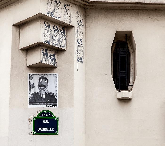 Paris Montmartre: Rue Gabrielle