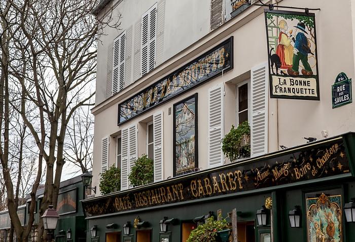 Paris Montmartre: Rue des Saules - La Bonne Franquette
