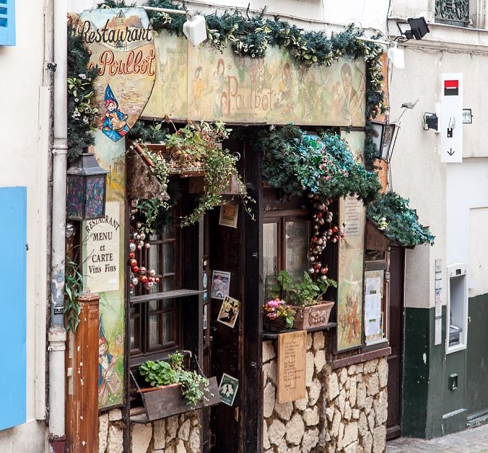 Paris Montmartre: Rue Poulbot - Le Poulbot