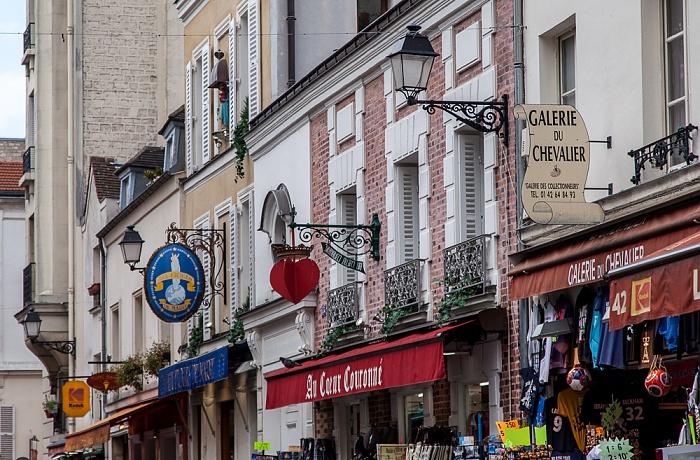 Paris Montmartre: Rue du Chevalier de la Barre