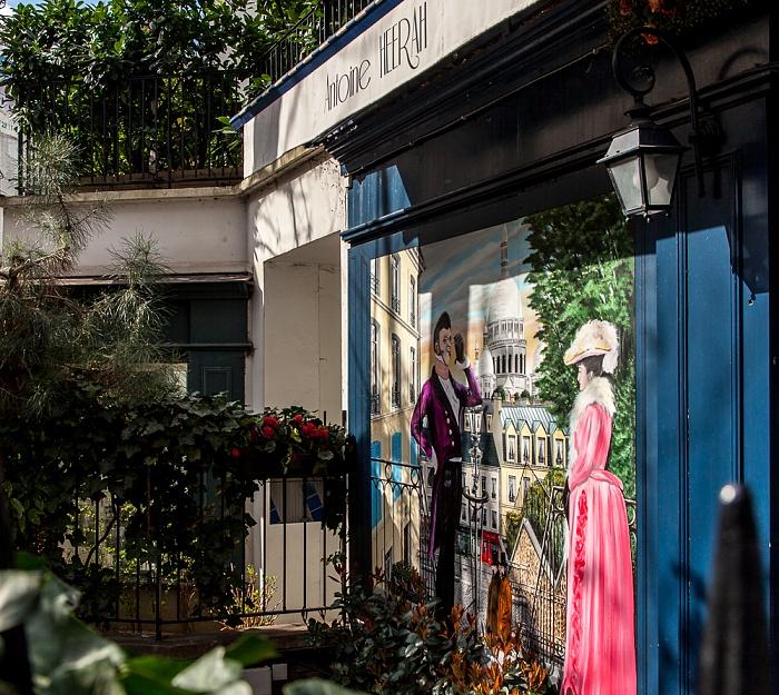Paris Montmartre: Rue Lepic / Rue Girardon