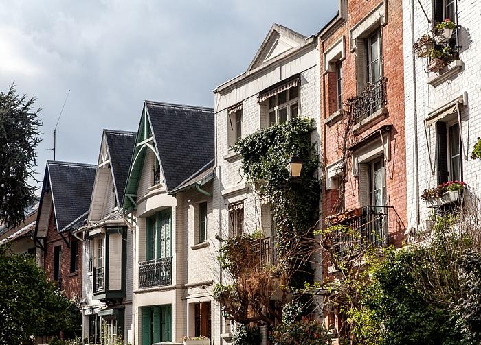 Paris Montmartre: Villa Léandre