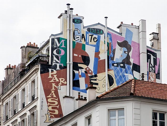 Montparnasse: Boulevard Edgar Quinet Paris