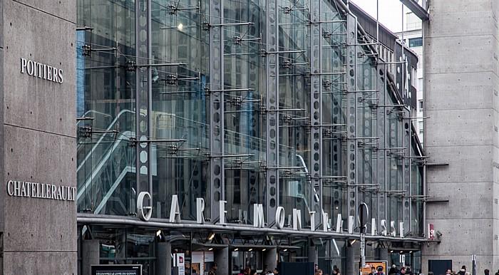 Montparnasse: Gare Montparnasse Paris