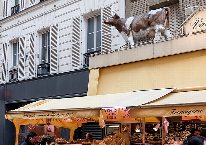 Montparnasse: Rue Daguerre Paris