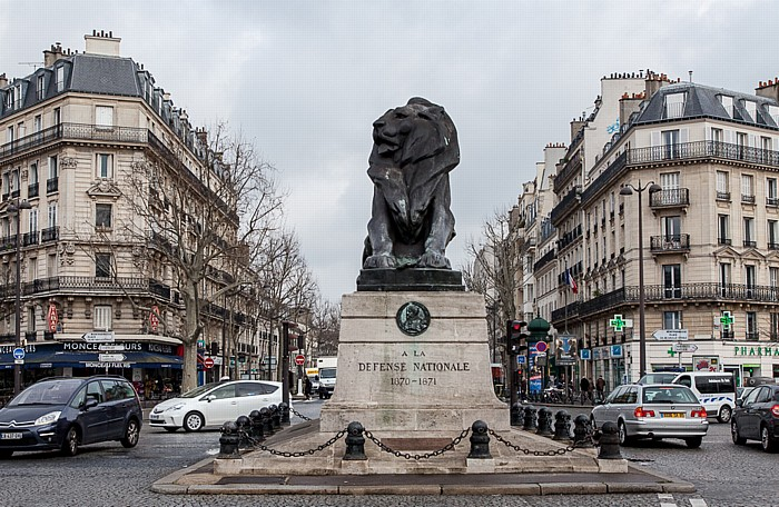 Place Denfert-Rochereau Paris