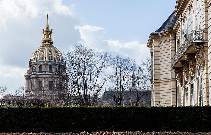 Musée Rodin: Hôtel Biron (rechts) Paris