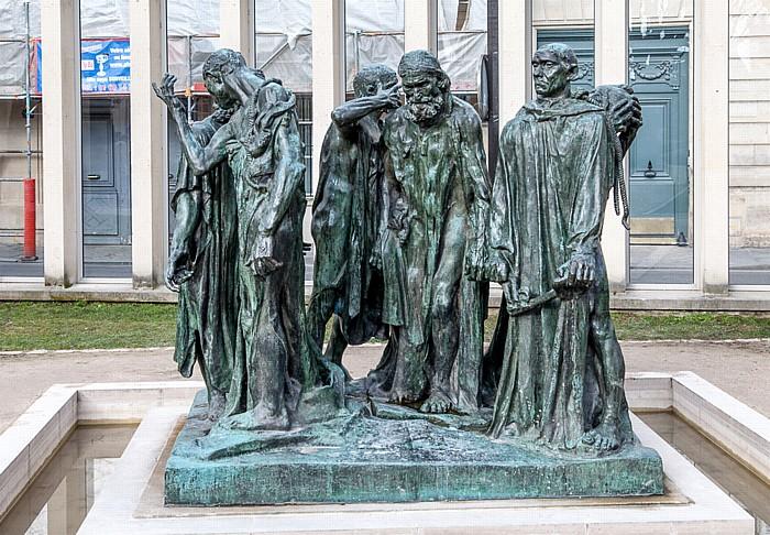 Musée Rodin: Le Monument aux Bourgeois de Calais (Die Bürger von Calais) (von Auguste Rodin) Paris