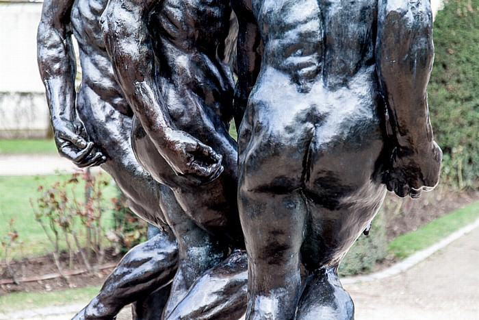 Paris Musée Rodin: Les Trois Ombres (Die drei Schatten) (von Auguste Rodin)