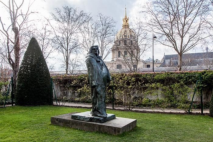 Paris Musée Rodin: Monument à Balzac (von Auguste Rodin) Invalidendom