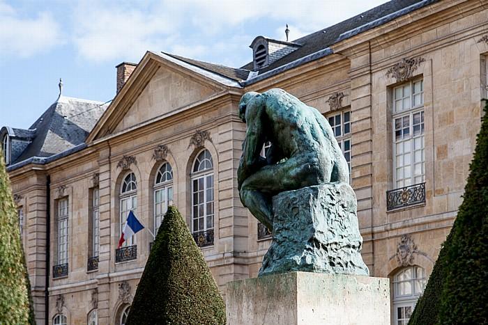 Paris Musée Rodin: Le Penseur (Der Denker) (von Auguste Rodin)
