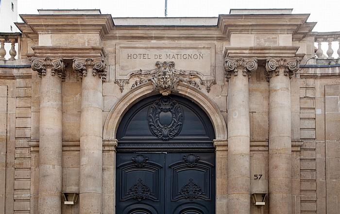 Paris Quartier des Invalides: Rue de Varenne - Hôtel de Matignon