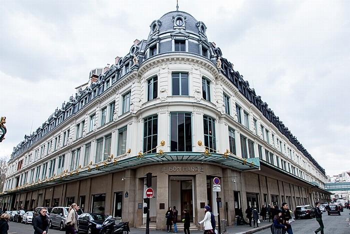 Paris Rue de Babylone / Rue du Bac: Le Bon Marché
