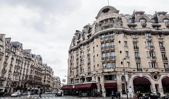 Paris Quartier Notre-Dame-des-Champs: Rue de Sèvres / Boulevard Raspail - Hôtel Lutetia