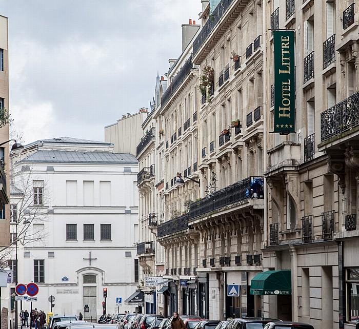 Paris Quartier Notre-Dame-des-Champs: Rue Littré