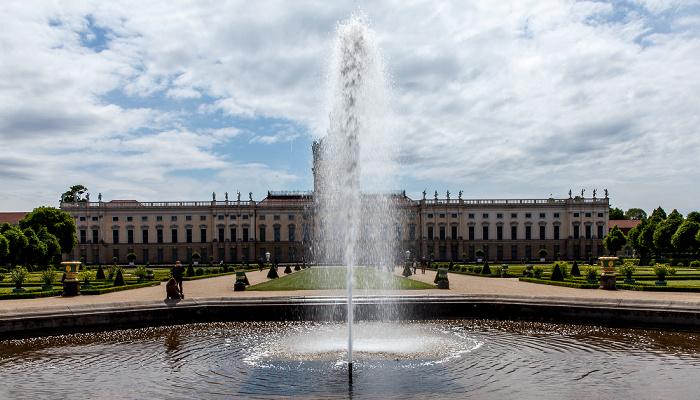 Schlossgarten Charlottenburg, Schloss Charlottenburg Berlin 2014
