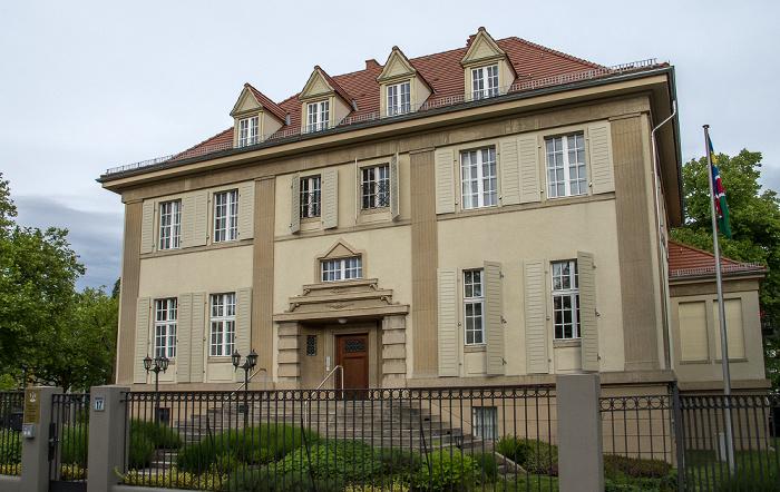 Westend: Botschaft der Republik Namibia Berlin