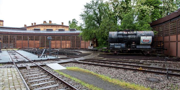 Deutsches Technikmuseum Berlin: Lokschuppen und Lokomotivdrehscheibe Berlin 2014