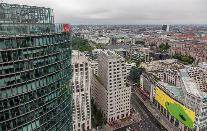 Blick vom Kollhoff-Tower Berlin