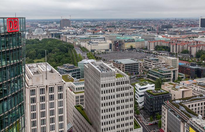 Blick vom Kollhoff-Tower Berlin 2014