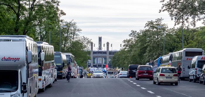 Olympische Straße, Olympisches Tor, Olympiastadion, Glockenturm Berlin