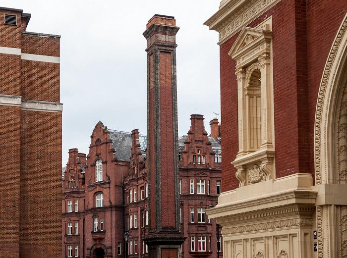 South Kensington: Royal Albert Hall Chimney London