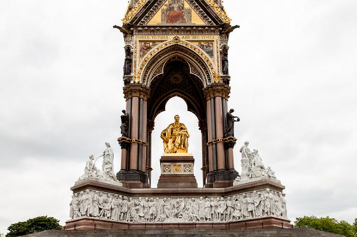 London Kensington Gardens: Albert Memorial