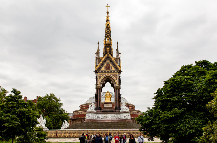 Kensington Gardens: Albert Memorial London
