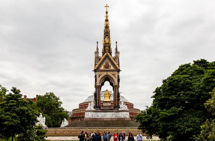 London Kensington Gardens: Albert Memorial Royal Albert Hall