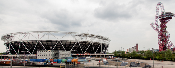 Queen Elizabeth Olympic Park: Olympiastadion (Olympic Stadium) und ArcelorMittal Orbit London