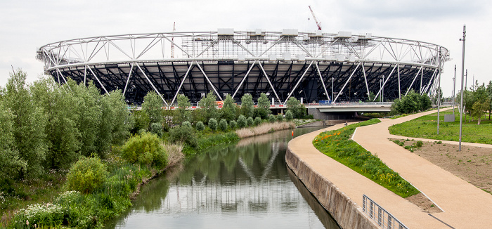 Queen Elizabeth Olympic Park: Olympiastadion (Olympic Stadium) London