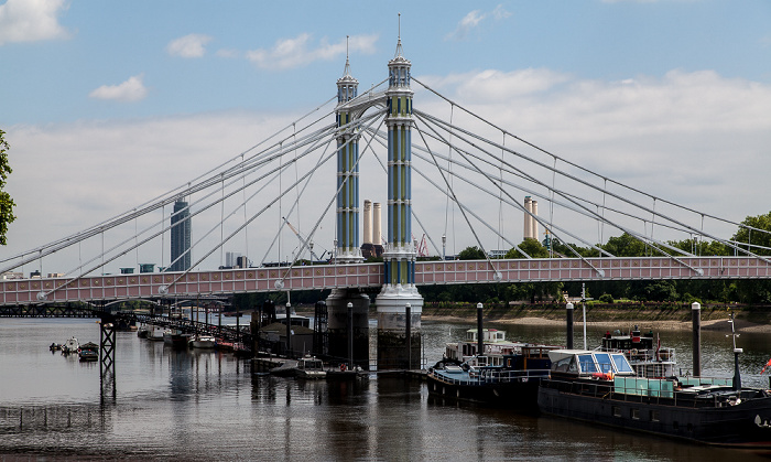 Albert Bridge, Themse London