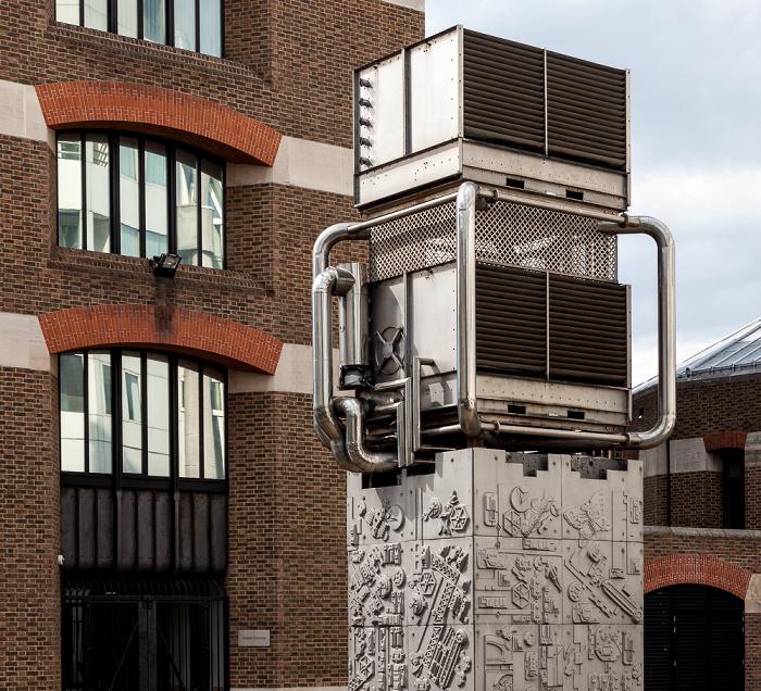 London Pimlico: Cooling tower panels (von Eduardo Paolozzi)