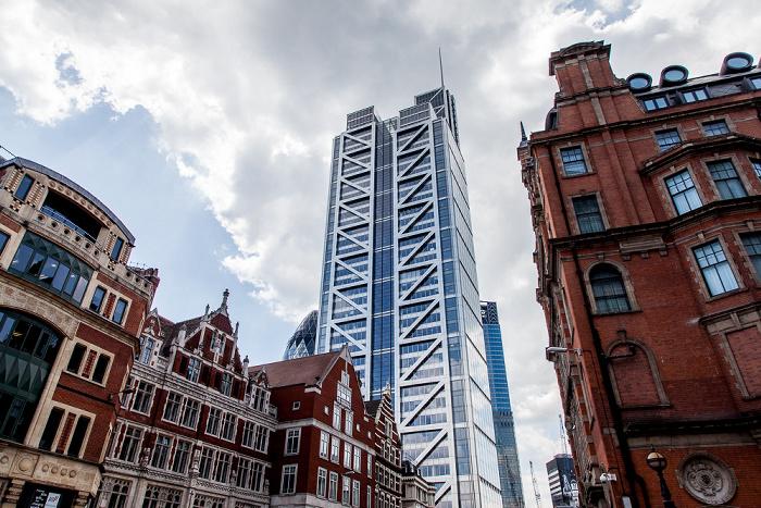 City of London: Bishopsgate, Heron Tower (110 Bishopsgate) 30 St Mary Axe
