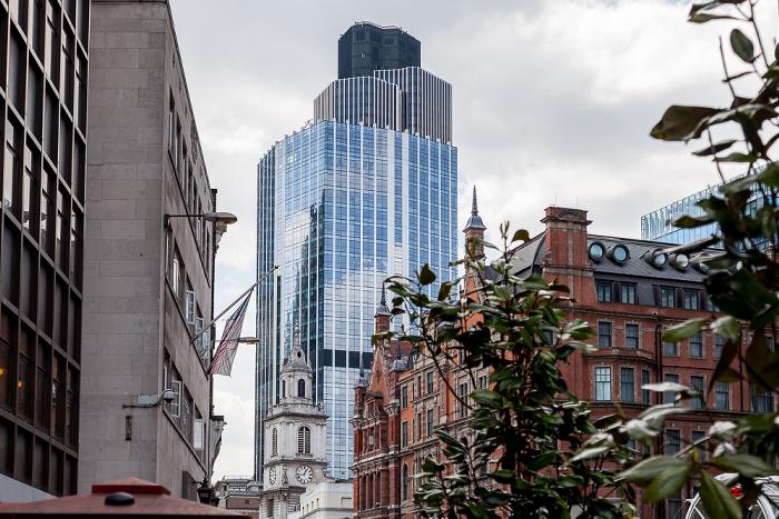 City of London: St Botolph-without-Bishopsgate und 99 Bishopsgate London